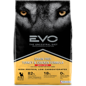 EVO Turkey & Chicken Formula Dog Food