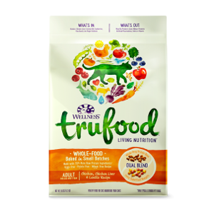 Wellness TruFood Baked Blends Adult Chicken Dry Cat Food