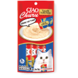 Ciao Churu Tuna with Scallop Recipe Cat Treats