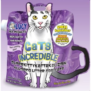 Lucy Pet Products Cats Incredible Lavender