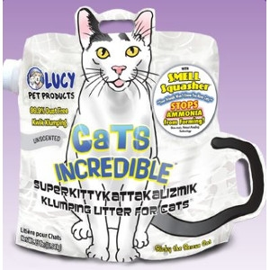 Lucy Pet Products Cats Incredible Unscented Litter