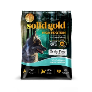 Solid Gold High Protein With Cold Water Salmon + Krill Meal