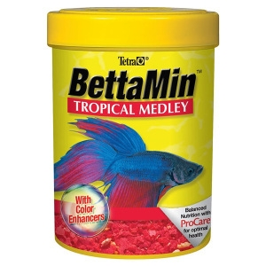 Tetra BettaMin Betta Fish Food Flakes