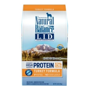 Natural Balance Limited Ingredient Diets® High Protein Turkey Formula Dry Dog Food