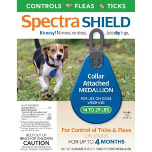 Spectra Shield Flea & Tick Collar, for Dogs 14-29 lbs.