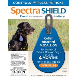 Spectra Shield Flea & Tick Collar, for Dogs over 56 lbs.