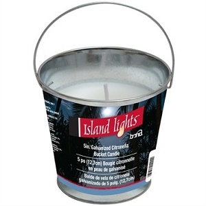 Bond® Island Lights™ Classic Citronella Bucket Candles, 5.25