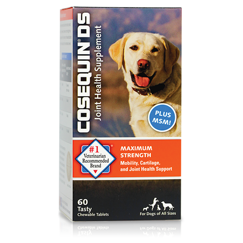 Cosequin® K9 Maximum Strength Plus MSM Chewabe Tablets