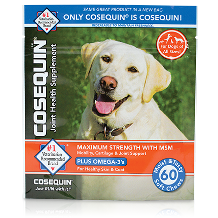 Cosequin® K9 Maximum Strength Chews with MSM Plus Omega-3