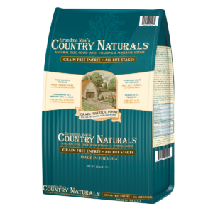 Grandma Mae's Country Naturals Grain Free Chicken, Pork & Whitefish Dry Dog Food