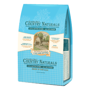 Grandma Mae's Country Naturals Chicken, Fish & Egg Cat & Kitten Dry Food