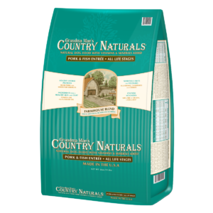 Grandma Mae's Country Naturals Farmhouse Blend Pork & Fish Dry Dog Food