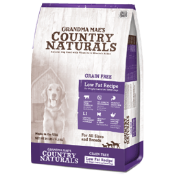 Grandma Mae's Country Naturals Grain Free Low Fat Recipe Dry Dog Food