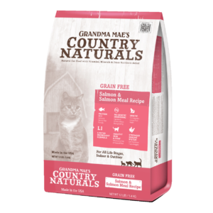 Grandma Mae's Country Naturals Grain Free Limited Ingredient Salmon Dry Cat & Kitten Food