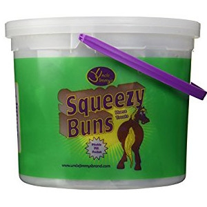Uncle Jimmy's® Squeezy Buns Horse Treats Bucket