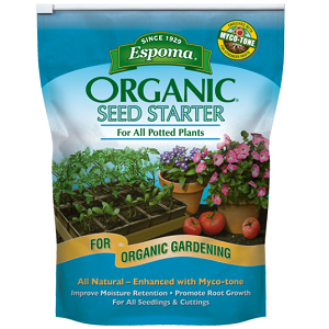 Organic Seed Starter Potting Mix, 16 quarts