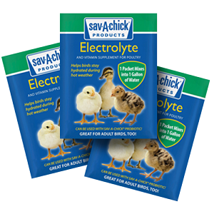 Sav-A-Chick Electrolyte & Vitamin Supplement, 3pk