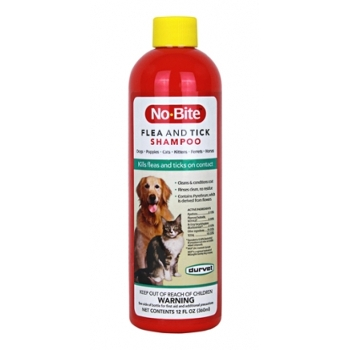 No-Bite Flea & Tick Shampoo, 12 oz.