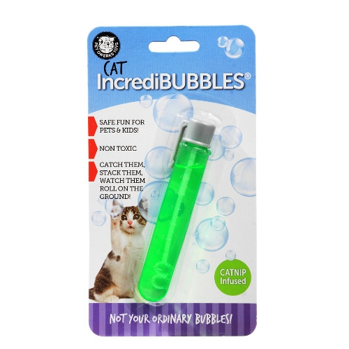 Pet Qwerks IncrediBubbles™ for Cats with CATNIP Infused