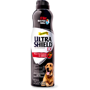 Ultrashield Ex Insecticide & Rpellent Flea & Tick Control For Dogs