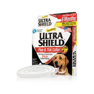 Ultrashield Flea & Tick Collar For Dogs