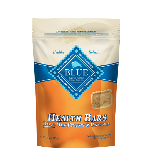 BLUE™ Health Bars Baked with Pumpkin and Cinnamon