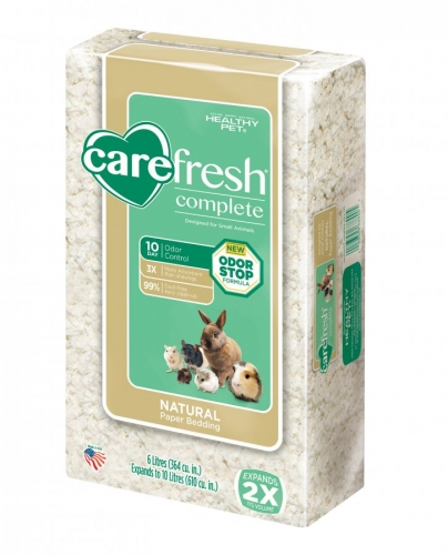Complete Natural Paper Bedding - White 10L