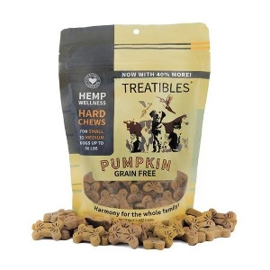 10 oz. Treatibles Pumpking Grain Free For Small & Medium Dogs