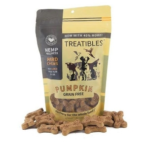 8.5 oz. Treatibles Pumpkin Grain Free For Large Dogs