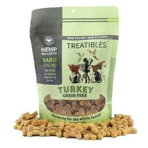 6.3 oz. Treatibles Turkey Grain Free For Small & Medium Dogs