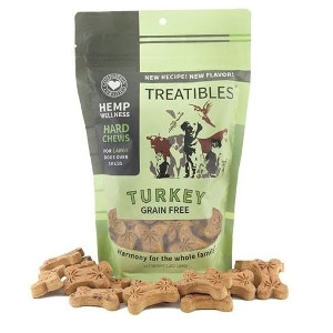 9 oz. Treatibles Turkey Grain Free For Large Dogs