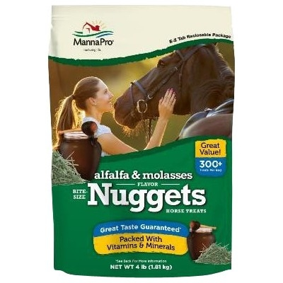 Bite-Size Nuggets Alfalfa & Molasses 4lbs
