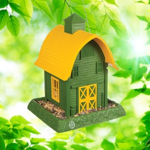 Green Barn Birdfeeder