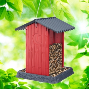 Red Shed Birdfeeder   Red Shed Birdfeeder