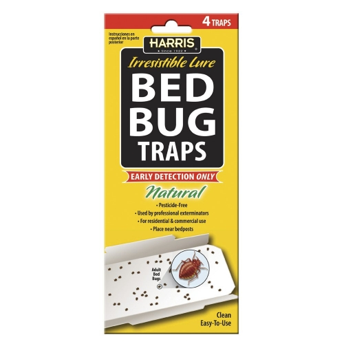 Bed Bug Detection Traps - 4pk