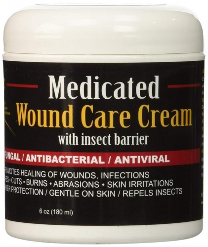 Medicated Wound Care Cream 6oz