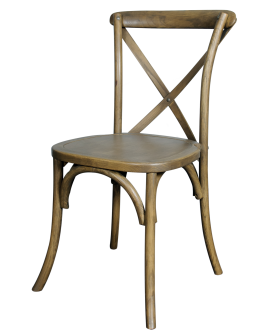 Chair--X-Back, Rustic