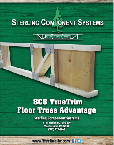 Introducing SCS TrueTrim Floor Truss Advantage