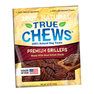 True Chews® Premium Grillers Dog Treats made with Real Sirloin Steak