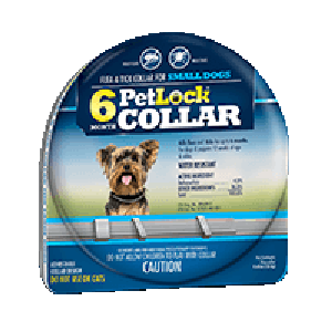 PetLock Six Month Collar for Dogs- Small