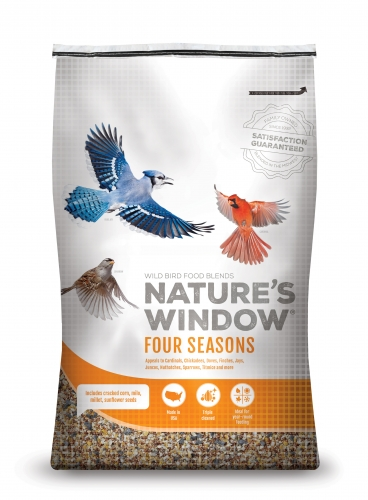 Nature's Window Wild Bird Seed Four Seasons Blend