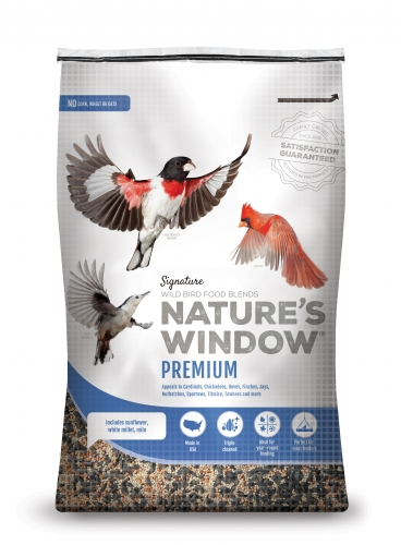 Nature's Window Wild Bird Seed Premium Blend