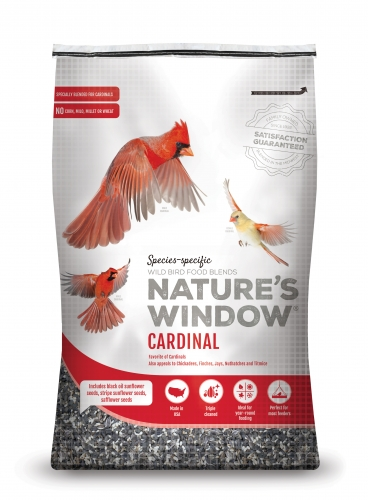 Nature's Window Wild Bird Seed Cardinal Mix