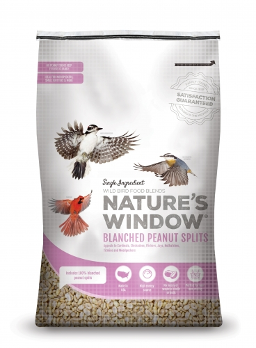 Nature's Window Wild Bird Seed Blanched Peanut Splits