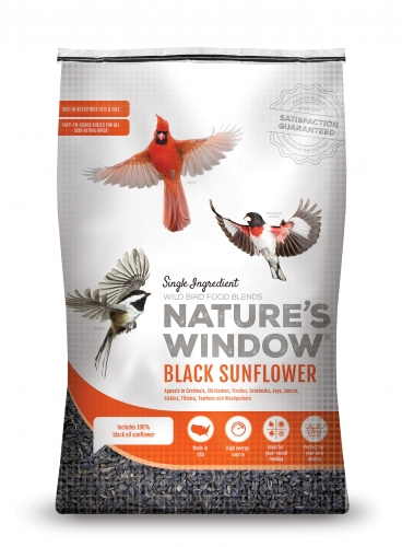 Nature's Window Wild Bird Seed Black Oil Sunflower