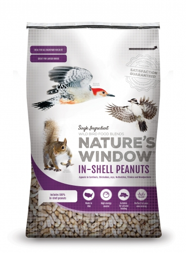 Nature's Window Wild Bird Seed Whole Peanuts In Shell