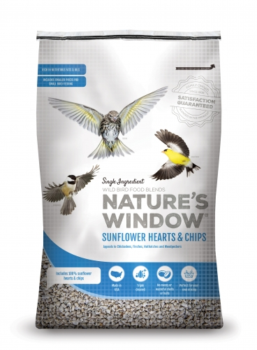 Nature's Window Wild Bird Seed Sunflower Hearts & Chips