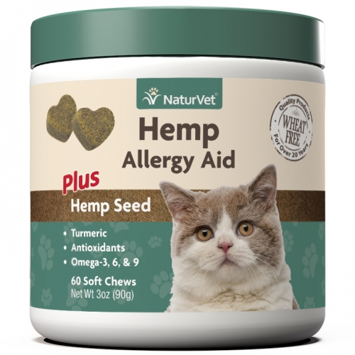 NaturVet Hemp Allergy Aid Cat