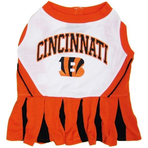 Cincinnati Bengals Cheerleader Pet Dress