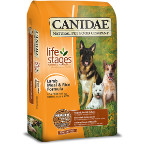 Canidae All Life Stages Dog Food With Lamb Meal and Rice